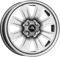 Alcar Hybridrad 131800 6x15 4x100 ET 40 Dia 60.1 (silver)