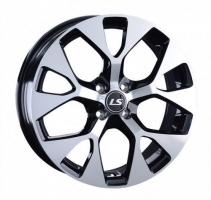 LS Wheels 1007 6.5x17 4x100 ET 45 Dia 60.1 (GMF)