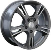 LS Wheels 116 9.5x20 5x120 ET 45 Dia 74.1 (черный)