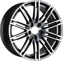 LS Wheels PR13 9x18 5x112 ET 26 Dia 66.6 (SF)