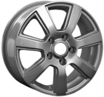 LS Wheels VW75 7.5x17 5x130 ET 50 Dia 71.6 (silver)