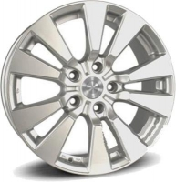 Replica HO43 7.5x17 5x120 ET 45 Dia 64.1 (silver)