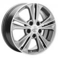 Khomen 1603 6x16 5x112 ET 50 Dia 57.1 (silver)