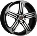LegeArtis VW530 6.5x16 5x112 ET 46 Dia 57.1 (BKF)